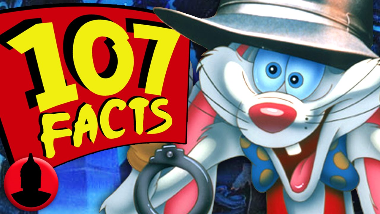 107 facts about who framed roger rabbit cartoon hangover youtube - Who Framed
