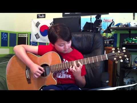 Bobby Darin - Beyond the Sea -Finding  Nemo - Fingerstyle Guitar - Andrew Foy