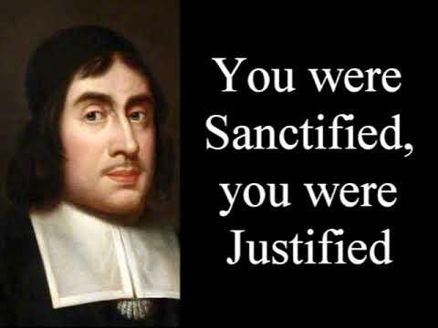 You were Sanctified and Justified - Puritan Thomas Watson / Christian Audio Devotional