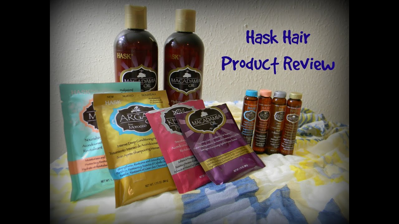 hair styling mousse reviews review hask hair products 9075 | maxresdefault