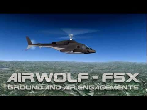 Airwolf (FSX): Ground and Air Engagements