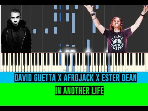 Afrojack x David Guetta x Ester Dean - Another Life - Piano Tutorial (EASY) MIDI & Sheets