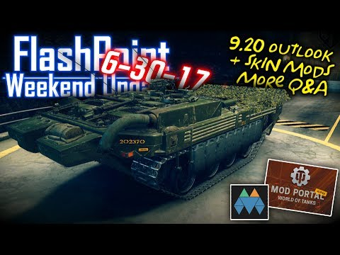 9.20 Outlook, +Skin Mods, More Q&A – FlashPoint (6-30-17)