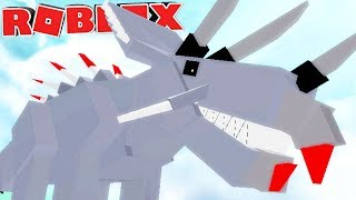 "Dinosaur Simulator (Roblox)-robot dinosaur, herbivorous technology ""Triceratops""-(#81) (EN-BR)"