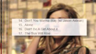 Kelly Clarkson 'Stronger' Tracklisting