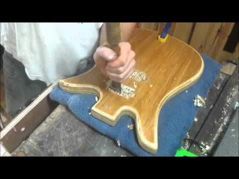 Plywood Electric Guitar- Construction