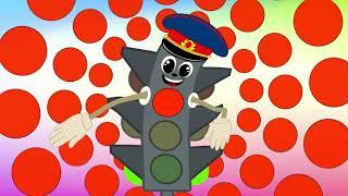 Песенка - Учим цвета - Зебра в клеточку - Песенки для детей