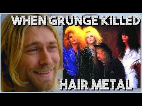 When Grunge Killed Hair-Metal
