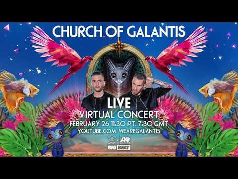 Live Virtual Galantis Concert On Feb 26