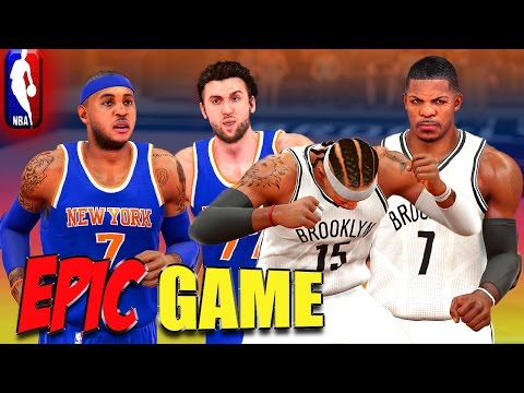NBA 2K15 MyCareer - KINGS Of New York / EPIC GAME!