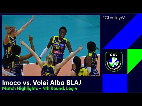 #CLVolleyW | A. Carraro Imoco CONEGLIANO vs. C.S.M. Volei Alba BLAJ - Match Highlights
