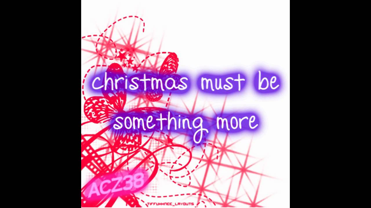Taylor Swift - Christmas Must Be Something More [Lyrics] - YouTube
