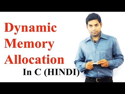 Dynamic Memory Allocation In C (HINDI/URDU)