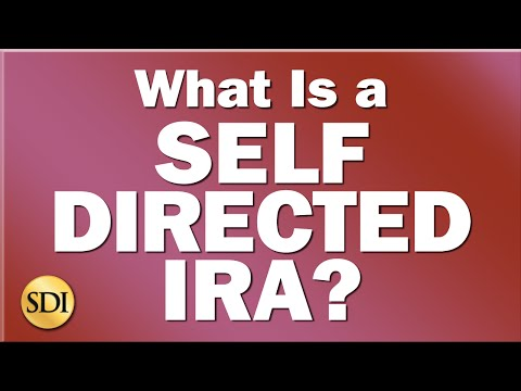 What Is A Self Directed IRA?  (Video + Free e-Book for Self-Directed IRA Investors)
