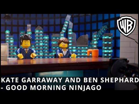 The LEGO Ninjago Movie - Kate Garraway and Ben Shephard featurette - Official Warner Bros. UK
