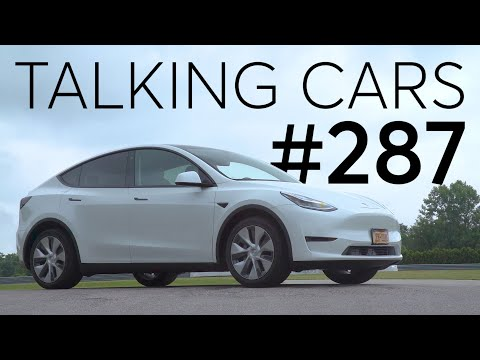 2020 Tesla Model Y Test Results   Talking Cars with Consumer Reports #287
