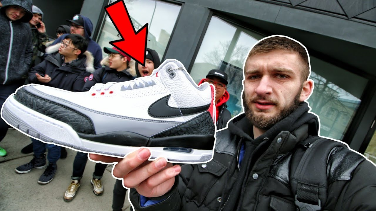 7b061ca63b61f3 AIR JORDAN 3 TINKER HATFIELD RELEASE! WHAT WENT DOWN... - YouTube