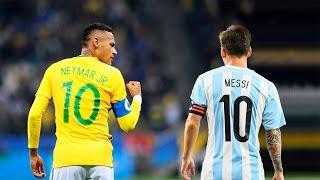 Neymar Jr vs Lionel Messi ● Brazil & Argentina Heroes