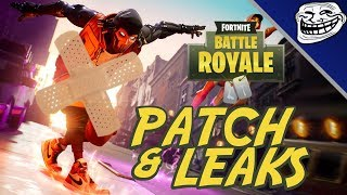 Fortnite Patch - Fuites: Jordan Downtown Drop Mode, Hot Spots, Leaked Week 3 - 4 Challenges,