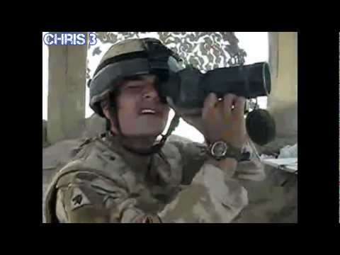 Afghanistan War - Funny British Soldier MTV Cribs Helmand Style [HD]