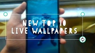 TOP 10 best LIVE WALLPAPERS till now!! (Android)