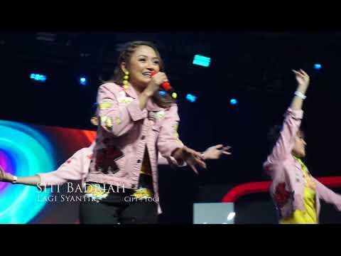Siti Badriah Terharu Saat 8 Ribu Orang Menyanyikan Lagu Lagi Syantik #YTFFID 2018