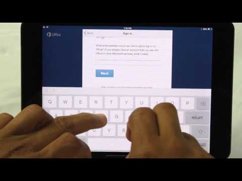 Microsoft Office on the iPad Air & iPad Mini UPDATED​​​ | H2TechVideos​​​
