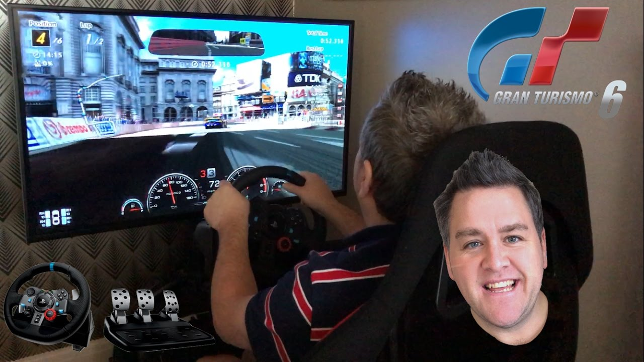 aeffe96b9cc Let's Race - Gran Turismo 6 - PS3 - London - Logitech G29 Racing Wheel and  Pedals - Arcade Racer