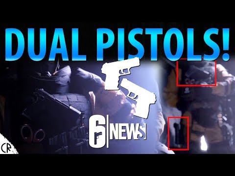 Dual Pistols! - Operation Chimera - 6News - Tom Clancy's Rainbow Six Siege