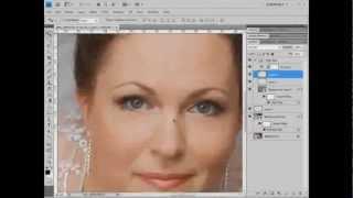 Видеоурок Photoshop Ретушь с помощью High Pass и Gaussian Blur