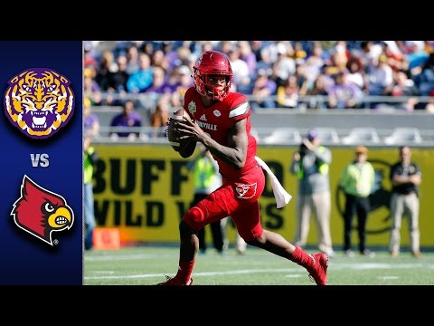 Louisville vs. LSU Citrus Bowl Highlights (2016)