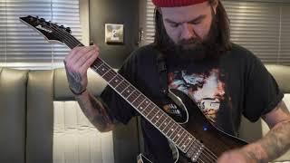 """Kristan Dawson - More Than Mortal """"Guitar Run Through"""" Bury Tomorrow"""
