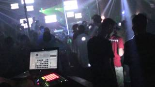 DJ Luna Live at Social Club In Ybor City! Doing a VJ Set 4! 7-30-2011