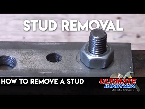 How to remove a stud