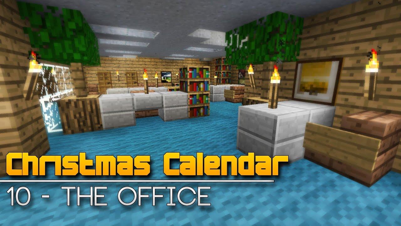 Christmas Calendar Parkour : Christmas calendar the office minecraft parkour map
