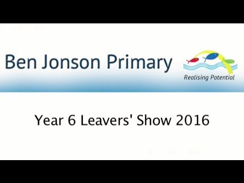 Year 6 Leavers' Show 2016