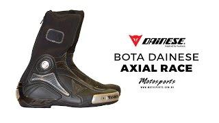 Bota Dainese Axial Race a melhor bota para motociclismo