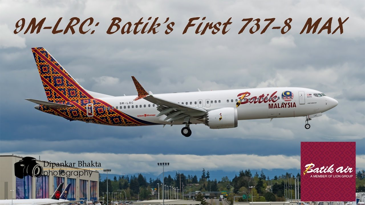 Batik air malaysias first boeing 737 8 max 9m lrc fully painted batik air malaysias first boeing 737 8 max 9m lrc fully painted touch n go kpae stopboris Image collections
