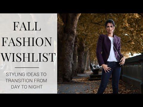 FALL 2017 FASHION WISHLIST | Favourite Items & Styling Ideas | JASMINA BHARWANI
