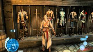 Assassin's creed III savegame all unlocked DLC