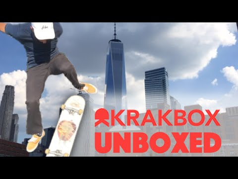 KRAKBOX UNBOXING / Skateboarding in New York