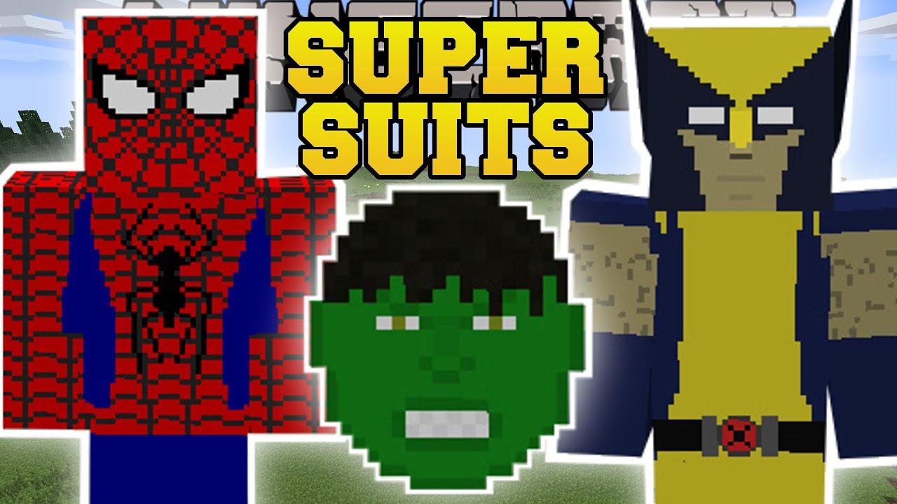 видео как скачать майнкрафт мод супермена #5
