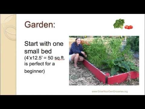 Grow Half Your Own Food In Your Back Yard