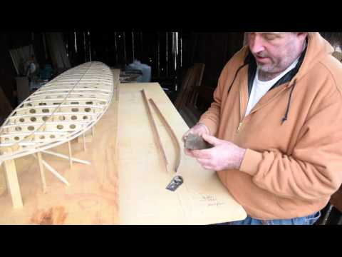 make a wood surfboard, Tutorial #8, Tucker Surf Supply, hollow wood surfboard