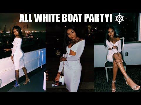 SENIOR WEEK | ALL WHITE PARTY! FT. POSHMARK