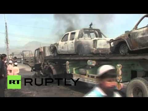 Pakistan: NATO convoy