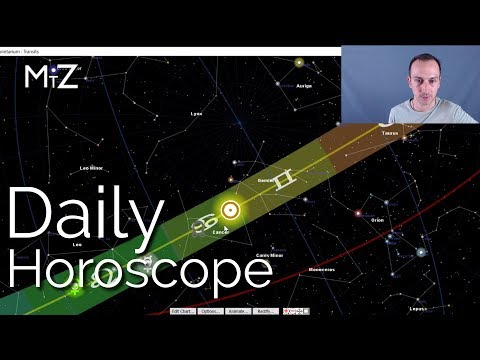 Daily Horoscope Thursday July 19th 2018 - True Sidereal Astrology