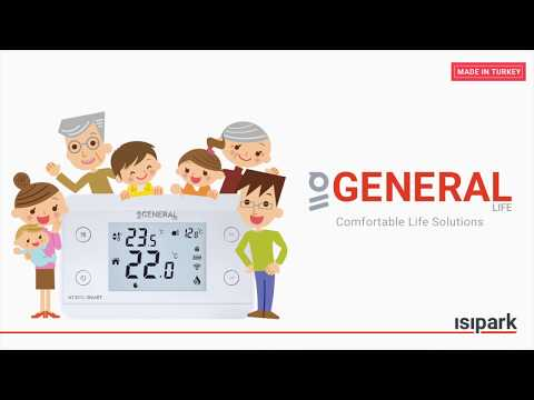 GENERAL HT300S SMART ROOM THERMOSTAT (ENGLISH)