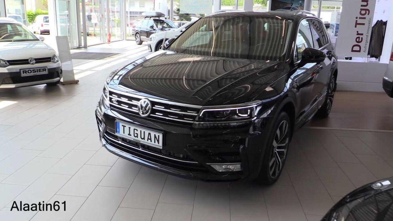 vw tiguan 2017 black. Black Bedroom Furniture Sets. Home Design Ideas