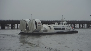 Hovercraft Solent Flyer at Ryde - Isle of Wight